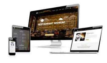 Website - Restaurant Nigrum in Baden-Baden